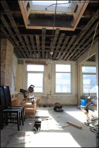Woonkamer/Keuken 3e verdieping