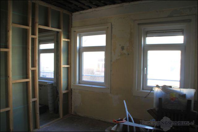 Slaapkamer/badkamer 3e verdieping