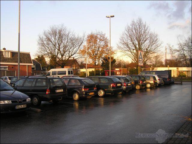 Parkeer terrein