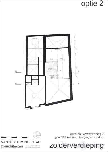 Zolderverdieping - optie 2