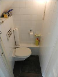 Begane grond, toilet